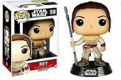 Rey Funko Pop from Star Wars The Force Awakens