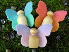 Sweet Spring Butterflies Handmade in by Rumpelfeltskin ~ so simple and sweet