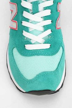 """teal #blue New Balance running sneakers http://rstyle.me/n/mj63dr9t """""""""""""""""""" mes bas ket sa vatte """""""""""""""""""""""