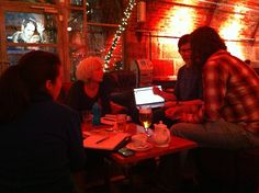 Fling Xmas meeting in The Arches, Glasgow.