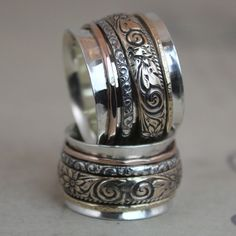 Gypsy Spinner Ring