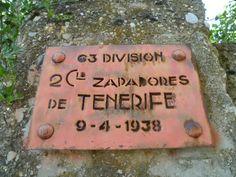 Publicamos la localización de un puente colgante  de la Guerra Civil Española en Huesca.