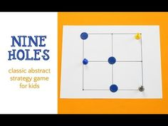 Nine Holes: a 3 in a Row Game for Kids