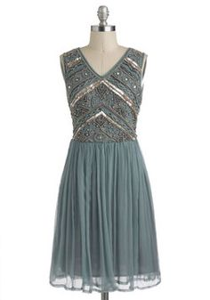 Embellishment to Be Dress, #ModCloth