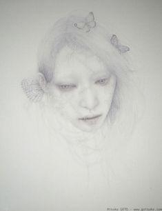 Atsuko Goto | drawing portrait