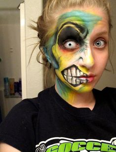 I'm here to tell you, friends, that now you can get your face painted and still look like a total badass.