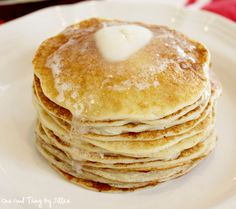 Blender Pancakes and Waffles (whole wheat or gluten-free!)