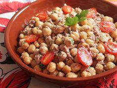 Salada de Grão de Bico e Atum | Gordelícias