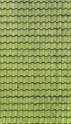 Light Grey Scallop Roof Shingles Dollhouse Printies
