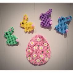 Easter hama beads by mamma_diy