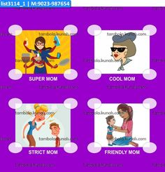 Design Mother kukuba 6 in category Kitty Party in Mother theme as product item Designer Kukuba under product Tambola Housie Designs Ladies Kitty Party Games, Kitty Games, Tambola Game, Mother's Day Theme, Cat Party, Color Card, Catwoman, Birthday Cards, Parties