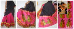 shiv-Parvati-half saree