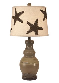 For the beach lover in all of us, this new Starfish Splashed Beach Cottage tall table lamp will simply make any room happy beside the sea! Seastar shapes are hand painted on a Onasburg linen sh Beach Cottage Style, Beach Cottage Decor, Coastal Decor, Tall Table Lamps, Table Lamp Sets, Beach Cottages, Lamp Shades, One Light, Light Table