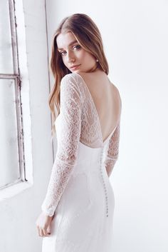Anna Campbell Ceremony Collection | Milla Lace Wedding Dress