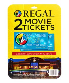 Tickets are valid at all Regal Entertainment Group locations nationwide for all movies and showtimes. How to Access Use your AARP login to purchase tickets by clicking below.