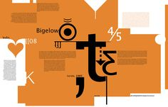 Charles Bigelow Typography on Behance