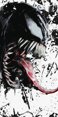Venom poster, t-shirt, mouse pad Marvel Venom, Marvel Art, Marvel Comics, 4k Phone Wallpapers, Movie Wallpapers, Wallpaper Backgrounds, Venom 2018, Dog Breed Names, Venom Movie
