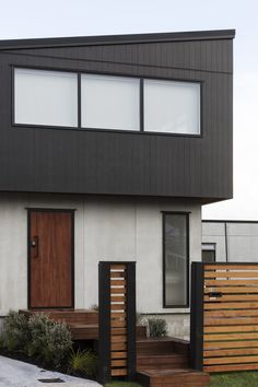 A striking facade with our EasyLap Panels and Axon Panels makes for instant curb appeal.