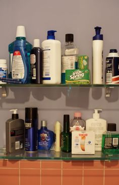 '90s Male Grooming Products Seinfeld, Male Grooming, Home Photo, 90s Things, Bathroom Medicine Cabinet