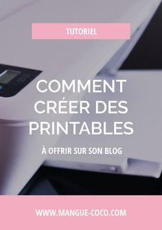 Créer des printables pour son blog, oui je le veux ! Je vous explique quelles sont les étapes techniques de la création d'un freebie à imprimer, et de quelle manière vous pourrez tracer le nombre de téléchargements par la suite.