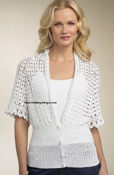 MyPicot is always looking for excellence and intends to be the most authentic, creative, and innovative advanced crochet laboratory in the world. Crochet Bolero Pattern, Crochet Jumper, Black Crochet Dress, Crochet Coat, Crochet Jacket, Crochet Cardigan, Crochet Clothes, Crochet Patterns, Crochet Sweaters