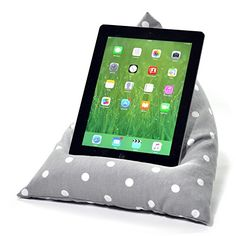 eBean Tablet Cushion - GREY SPOTTY - beanbag stand lap holder suitable for all iPads tablets and ebook rea No description (Barcode EAN = 0715547863253). http://www.comparestoreprices.co.uk/december-2016-6/ebean-tablet-cushion--grey-spotty--beanbag-stand-lap-holder-suitable-for-all-ipads-tablets-and-ebook-rea.asp