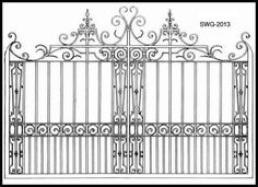 Gate Designs | Entry Gate| Hand Forged