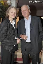 Charlotte Rampling and fiance Jean-Noel Tassez