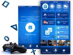 PlayStation App UI - ReDesign