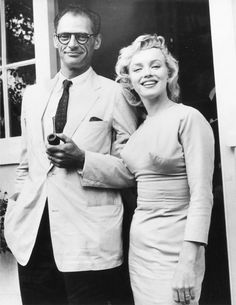 From Sketch to Still: The Costumes in My Week with Marilyn:  In July of 1956, Marilyn Monroe is pictured with her playwright husband, Arthur Miller, wearing a pale periwinkle dress that Jill Taylor painstakingly recreated for the film My Week with Marilyn | Vanity Fair