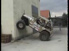 Cool Jeep doing amazing climb. If you can touch it with the front tires, you can climb it.