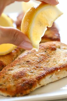 Turkey Cutlets with Parmesan Crust (Skinnytaste)