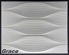 1 m², Panel 3D Plates Wall Panels 3d Wall Plates Wall Ceiling, 62x80cm, GRACE