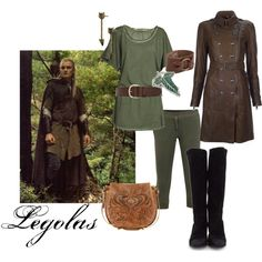 U0026quot;Legolas and Gimli Medieval Outfitsu0026quot; by rubytyra on Polyvore | Geekiness | Pinterest | Alexander ...