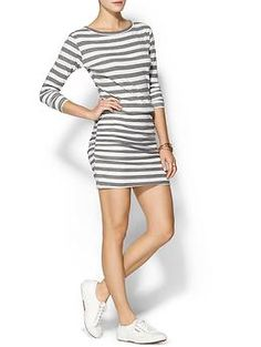 SUNDRY CLOTHING, INC. Boat Neck Knit Mini Dress | Piperlime (Feb) Price:138 Composition: cotton, spandex