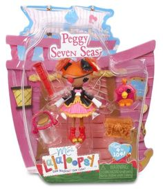 Lalaloopsy Mini Peggy Seven Seas Doll