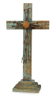 ... Old Barn Wood, Reclaimed Barn Wood, Country Crafts, Country Decor, Wooden Crosses, Mosaic Crosses, Crosses Decor, Barbed Wire Art, Barn Wood Projects