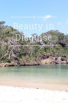 Beauty in disguise. Sempu island, Malang, Indonesia.
