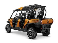 New 2016 Can-Am Commander MAX Limited 1000 ATVs For Sale in Tennessee. 2016 Can-Am Commander MAX Limited 1000, For special internet pricing, contact our sales team at 423.639.4486 or 2016 Can-Am® Commander MAX Limited 1000 THE ULTIMATE FULLY-LOADED 4-SEATER Take the ultimate ride with a fully-loaded side-by-side vehicle. Features may include: 85-HP ROTAX 1000 V-TWIN ENGINE CATEGORY-LEADING PERFORMANCE Liquid-cooled, 8-valve Rotax 976 cc V-twin pumps out a class-leading 85 horsepower, yet is…
