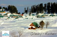 Visit Gulmarg in Kashmir and enjoy the snow in this Summer..
