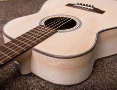Sycamore steel string acoustic guitar
