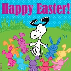 Happy Easter! Snoopy