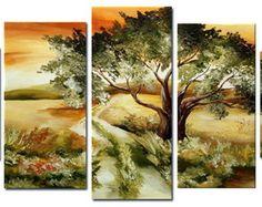 cuadro, painting Quadro Paisagem Campos Estrada
