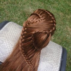1000+ images about Ladder Braid Hairstyles on Pinterest Ladder braid ...