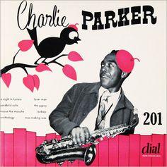 Dial Records - jazz album covers