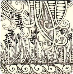 Halcyon by Michele Beauchamp, Certified Zentangle Teacher, via Flickr