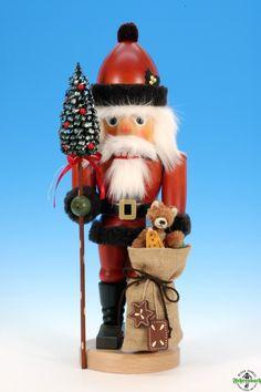 Nutcracker Santa Claus with teddy