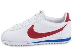 low priced 4fd0a bd298 nike cortez bleu blanc rouge, Nike Cortez Leather Blanche rouge et bleue -  Chaussures Chausport 127€❤❤❤