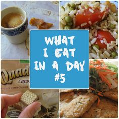 What I eat in a day #5 - Summer Edition