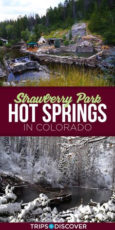 Entspannen Sie in Colorado's Strawberry Park Hot Springs- Entspannen Sie in Colorado's Strawberry Park Hot Springs Source by tripstodiscover Colorado Places To Visit, Road Trip To Colorado, Colorado Hiking, Denver Travel, Travel Usa, Alberta Canada, Strawberry Park Hot Springs, Aspen, Winter Park Colorado
